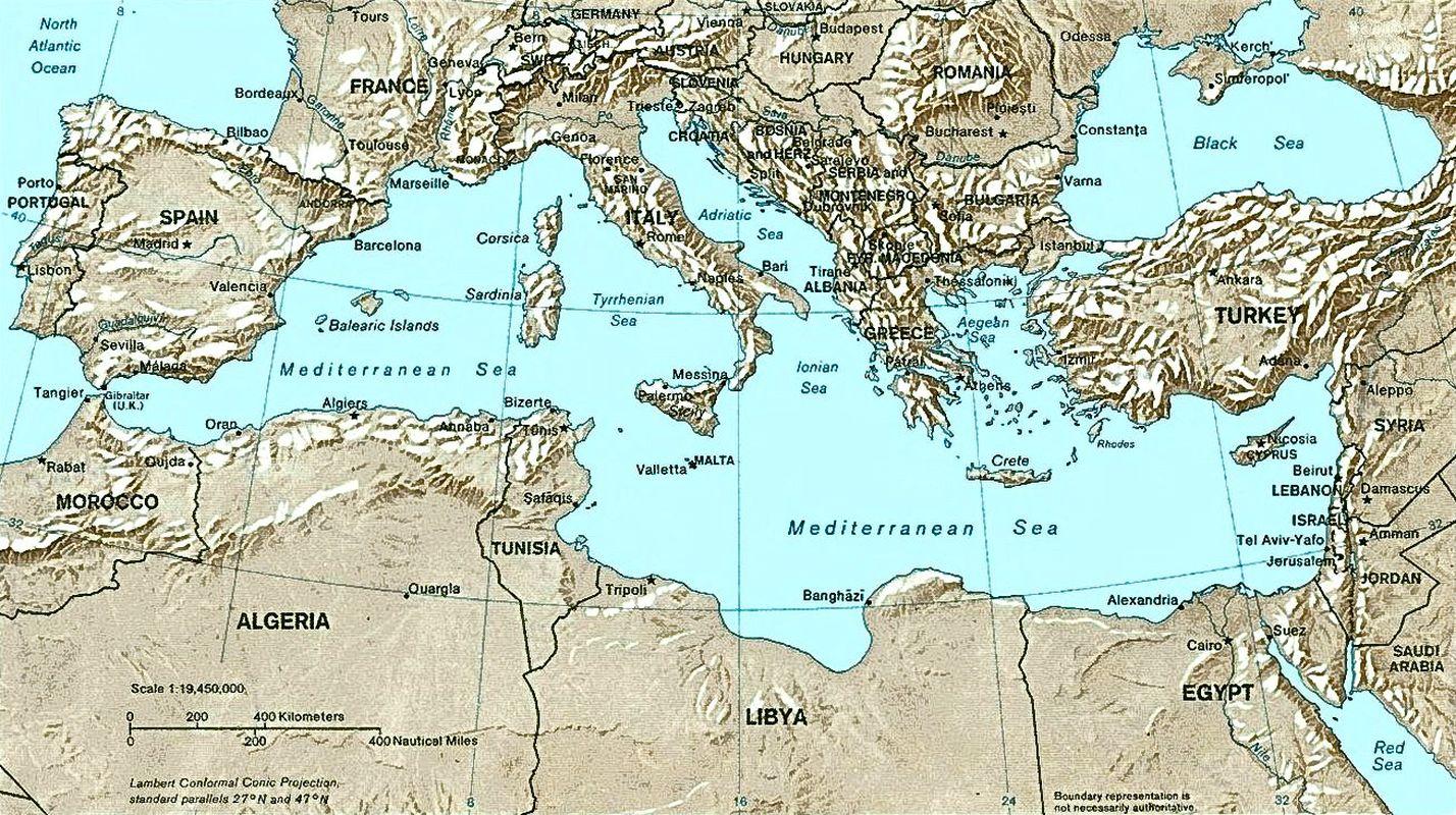 Mediterranean Relief