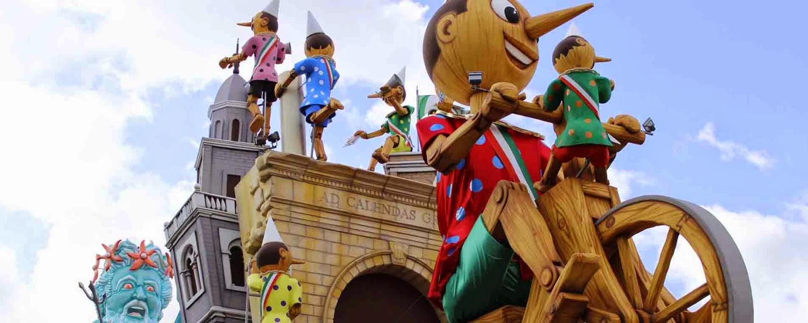 Eventi caratteristici del Carnevale di Fano 2015