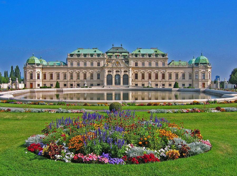 Risultati immagini per Il Belvedere di Vienna
