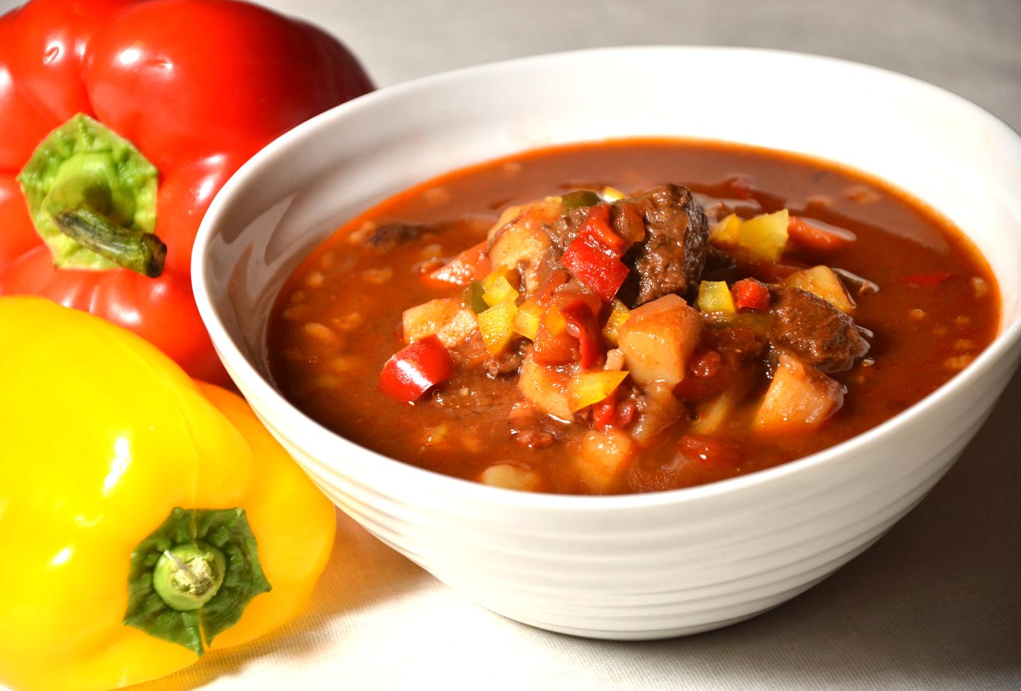 Gulasj suppe zupa gulashowa ungarsk paprika 1000
