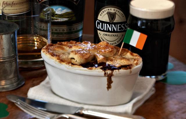 Ricetta Beef Guinness Pie