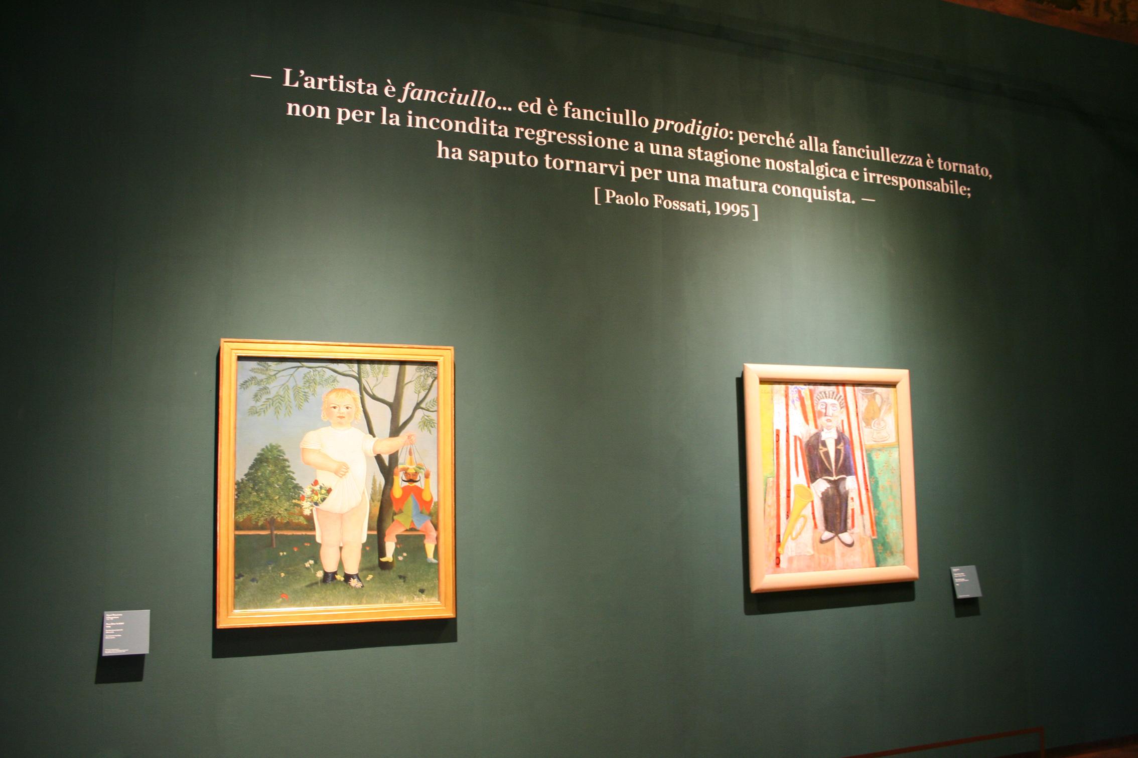 13. Henri Rousseau. Il candore arcaico Venezia Palazzo Ducale 4 marzo 2015