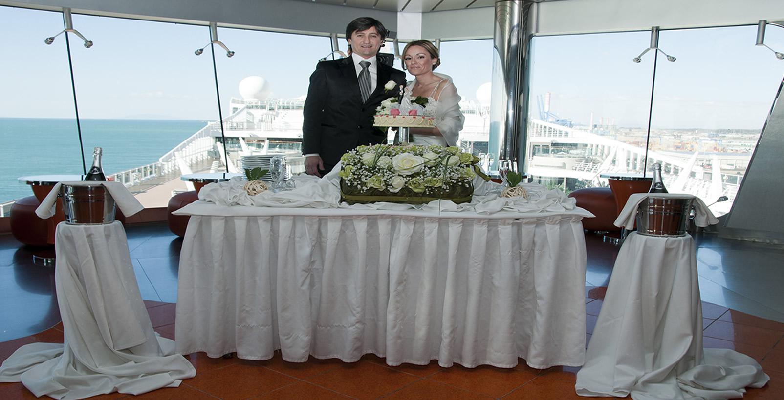 Cinque motivi per sposarsi su una nave da crociera viaggiamo for Cabina interna su una nave da crociera