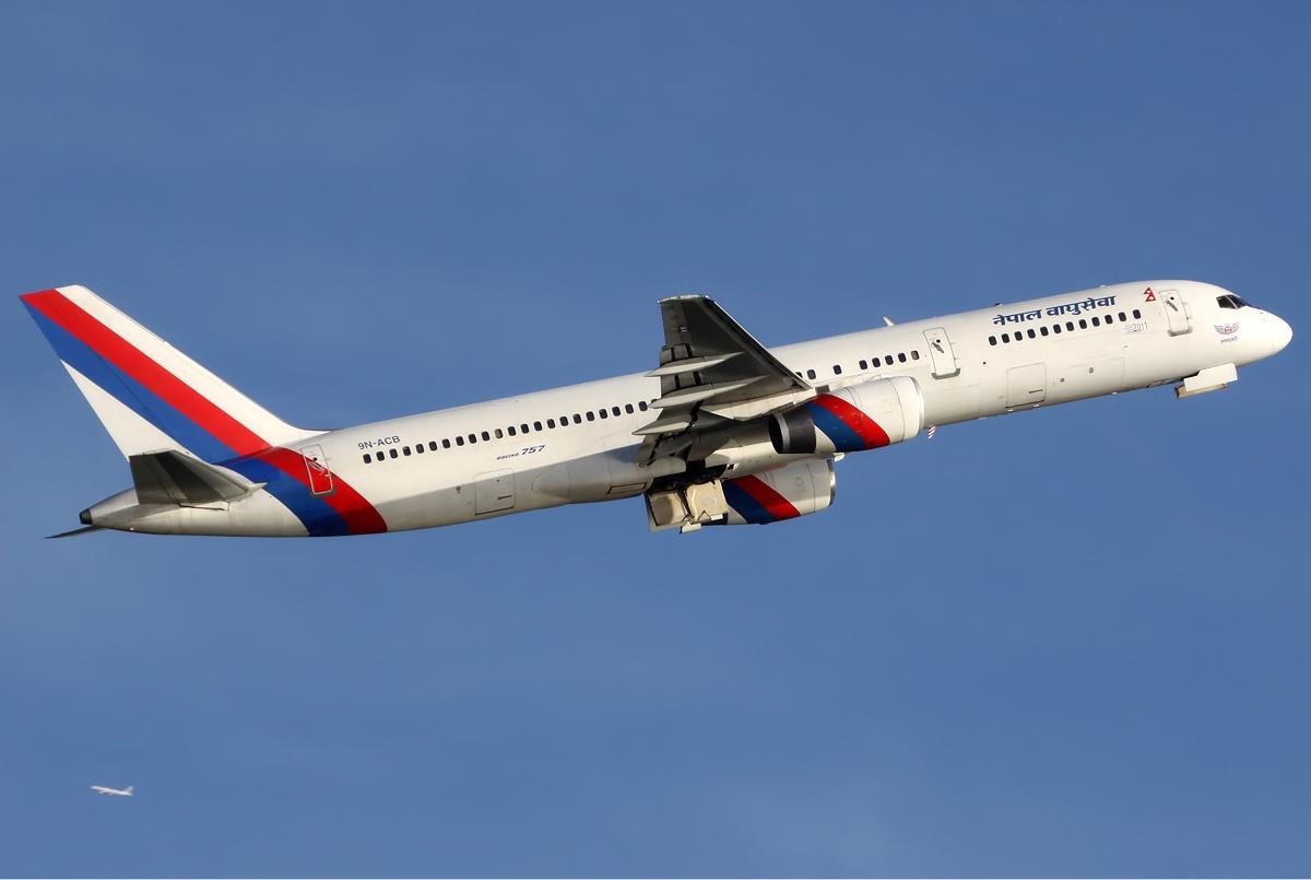 Nepal Airlines Boeing 757 Spijkers