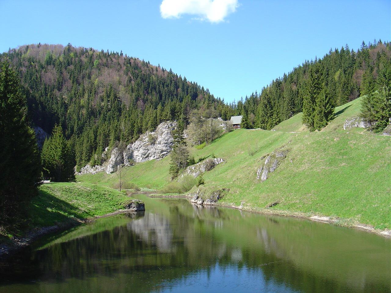 Slovensky raj Stratenska pila