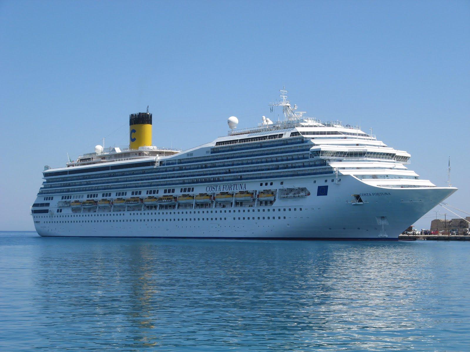 Itinerario crociera mediterraneo costa fortuna viaggiamo for Cabina interna su una nave da crociera