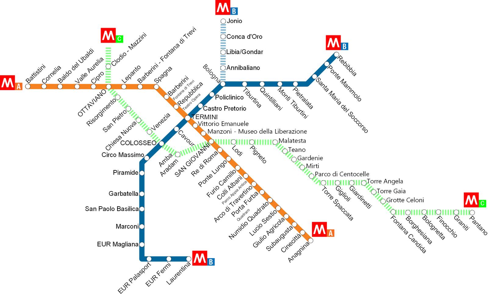 roma metropolitana linea blu salerno - photo#1