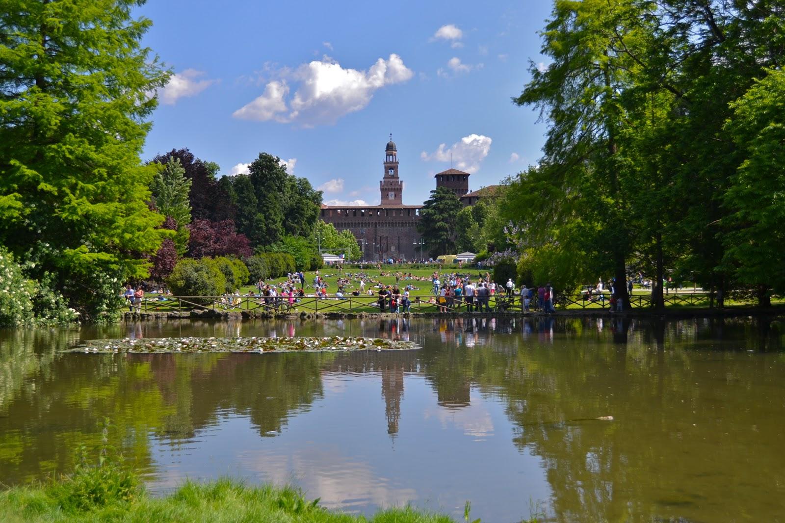 Parchi ingresso gratuito dove studiare primavera Milano
