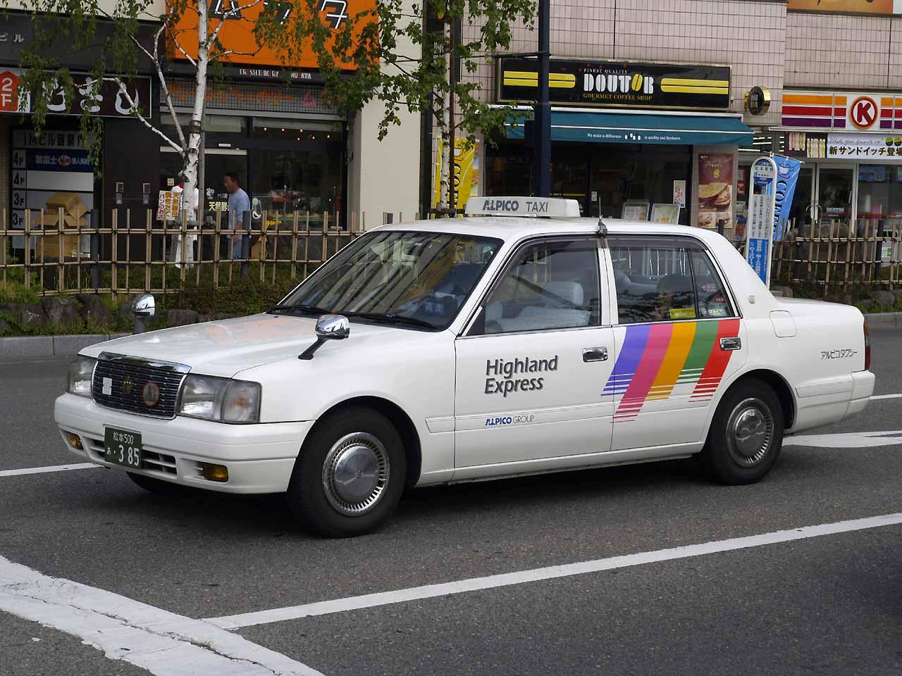 Quanto costa prendere il taxi in Giappone