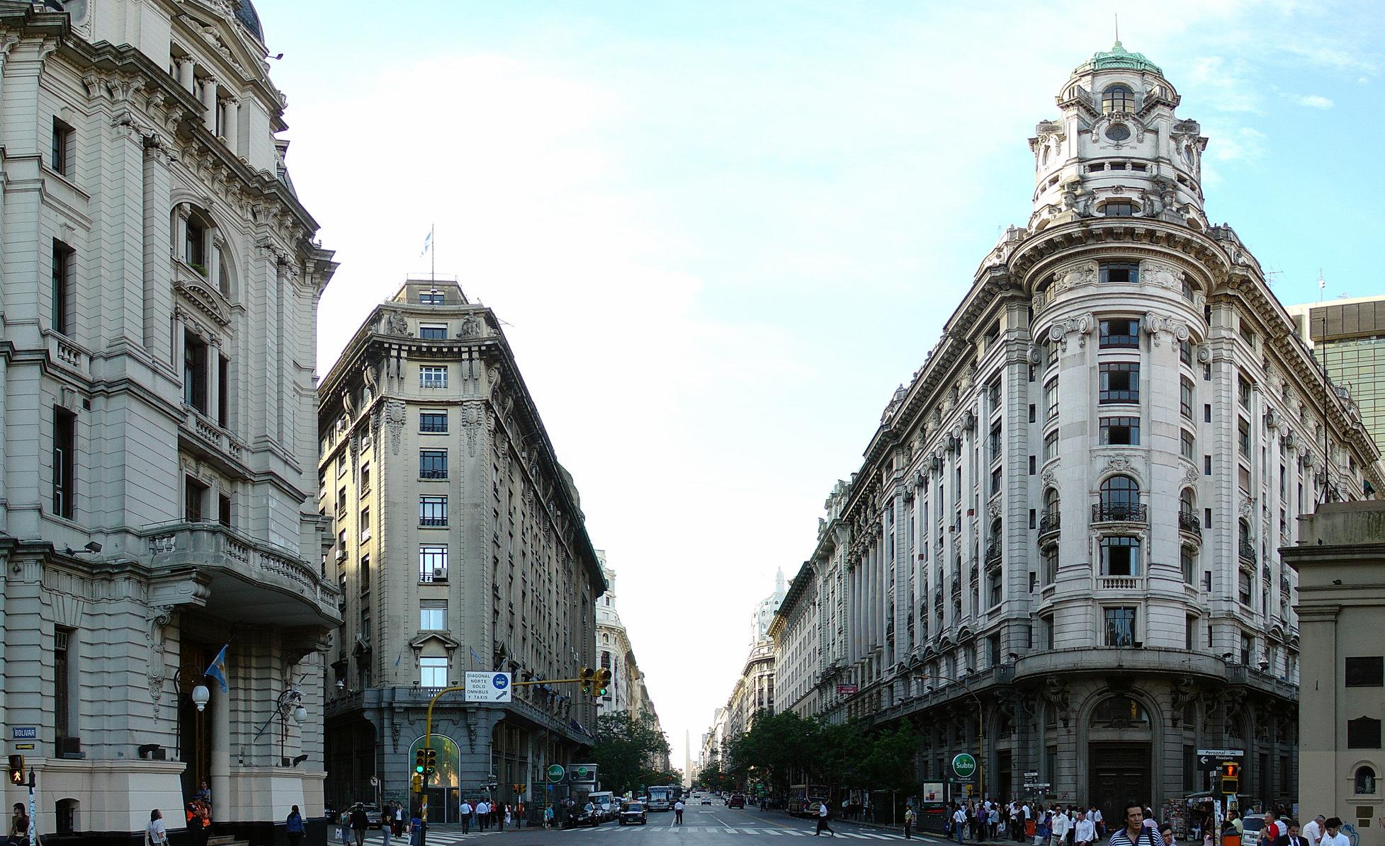 Buenos Aires Décembre 2007   Avenida 5 de Mayo