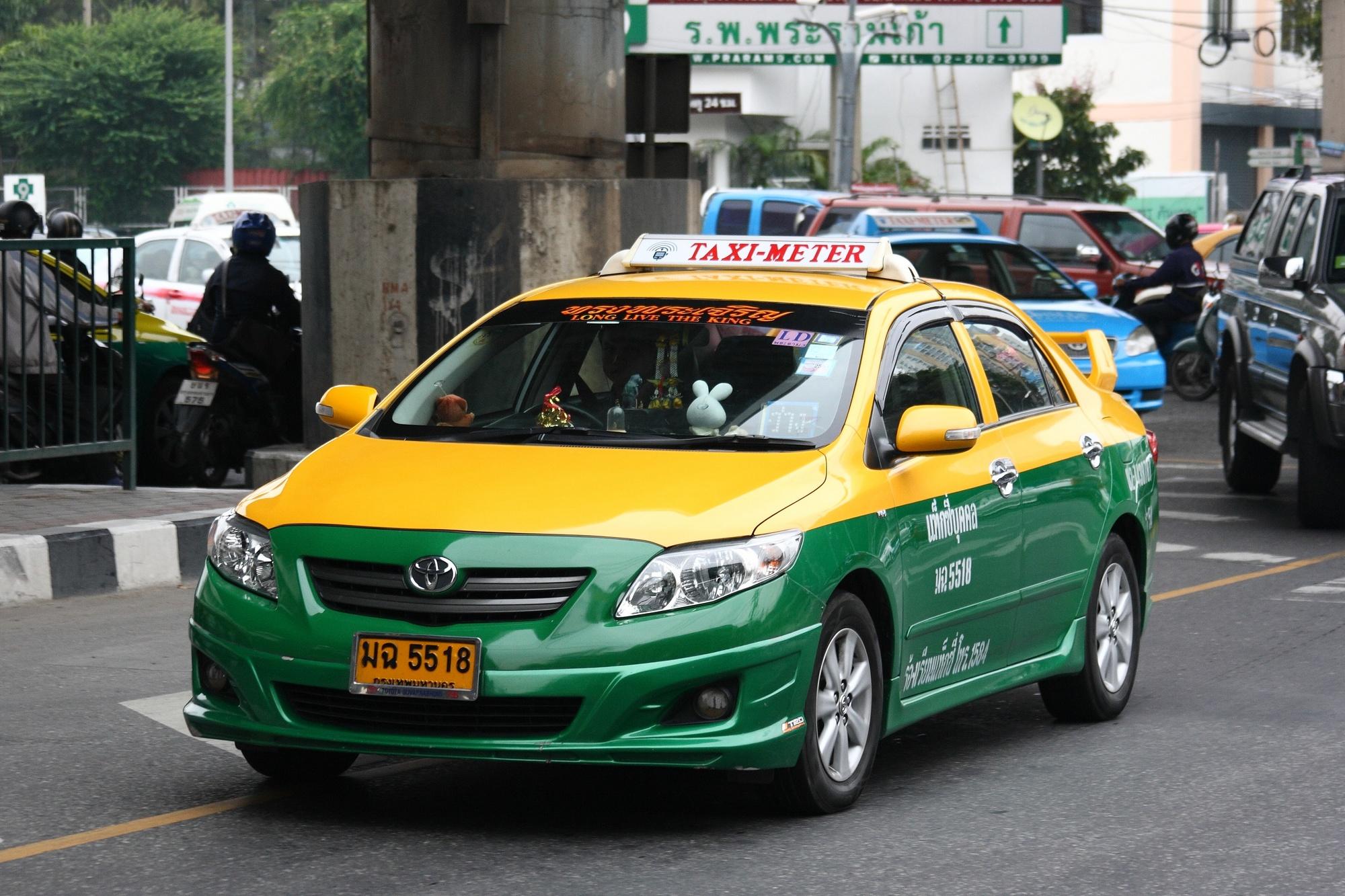 Taxi meter in Bangkok 04