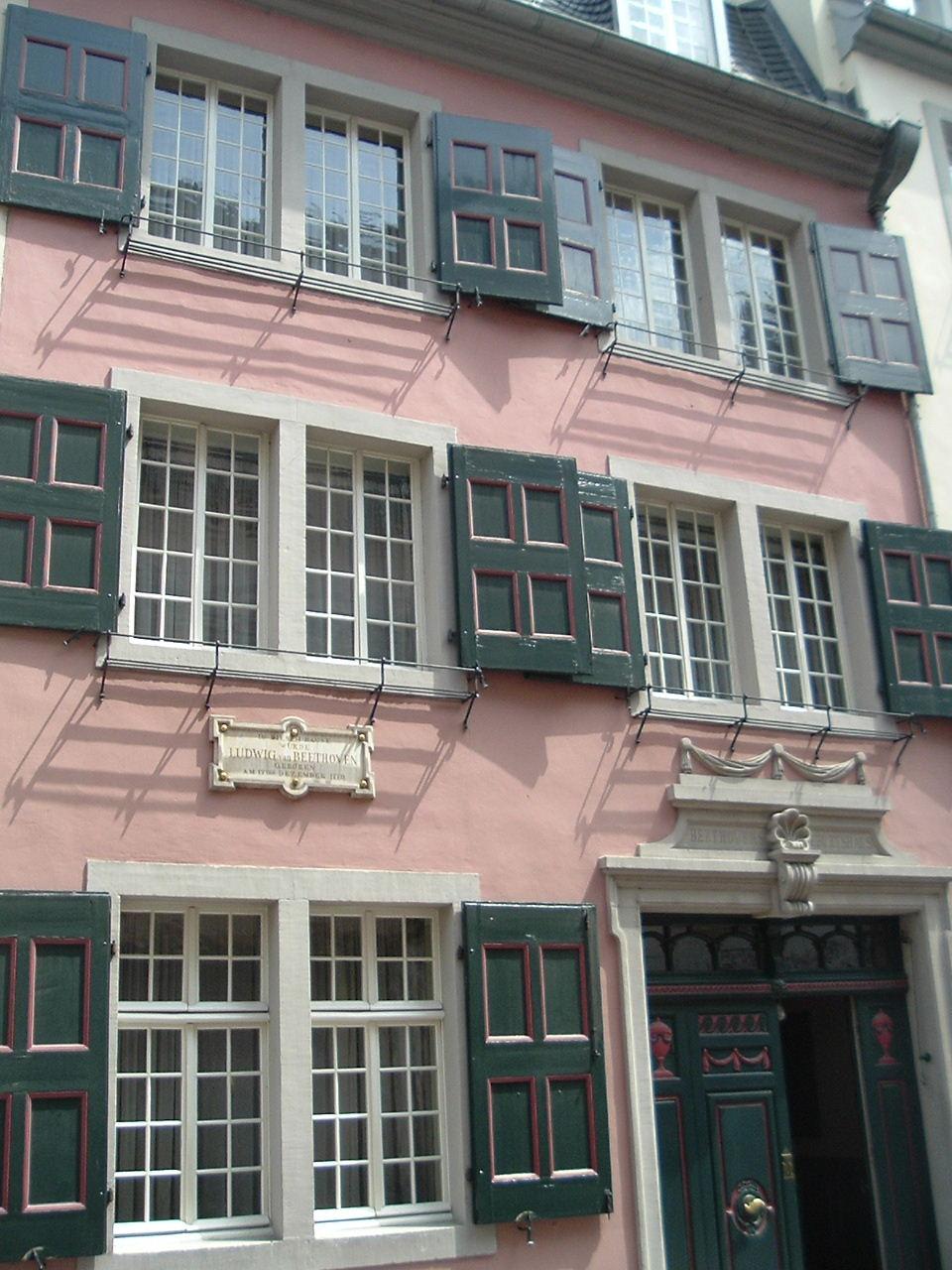 Casa di Beethoven a Bonn, come arrivare