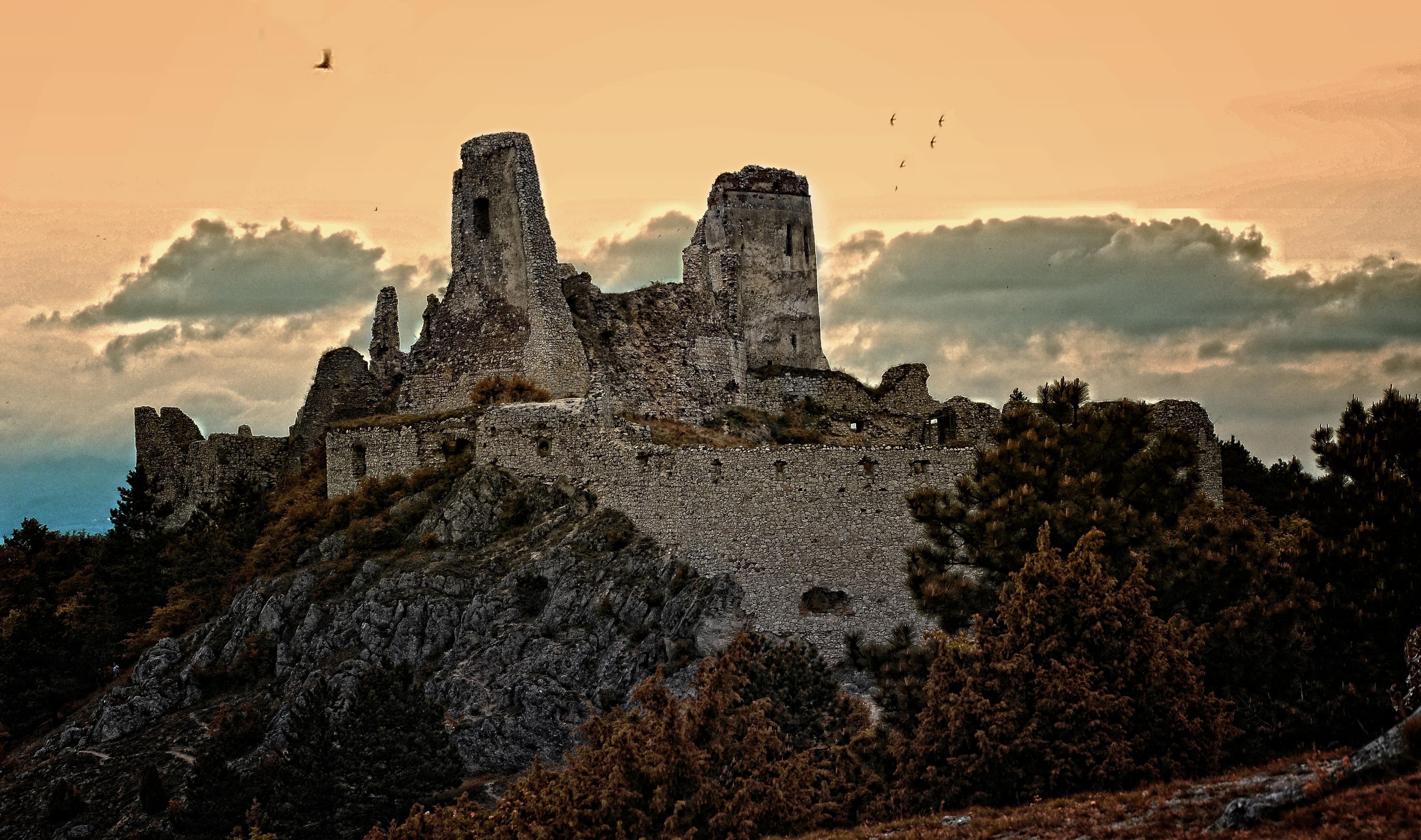 Come arrivare al castello di Cachtice, Slovacchia