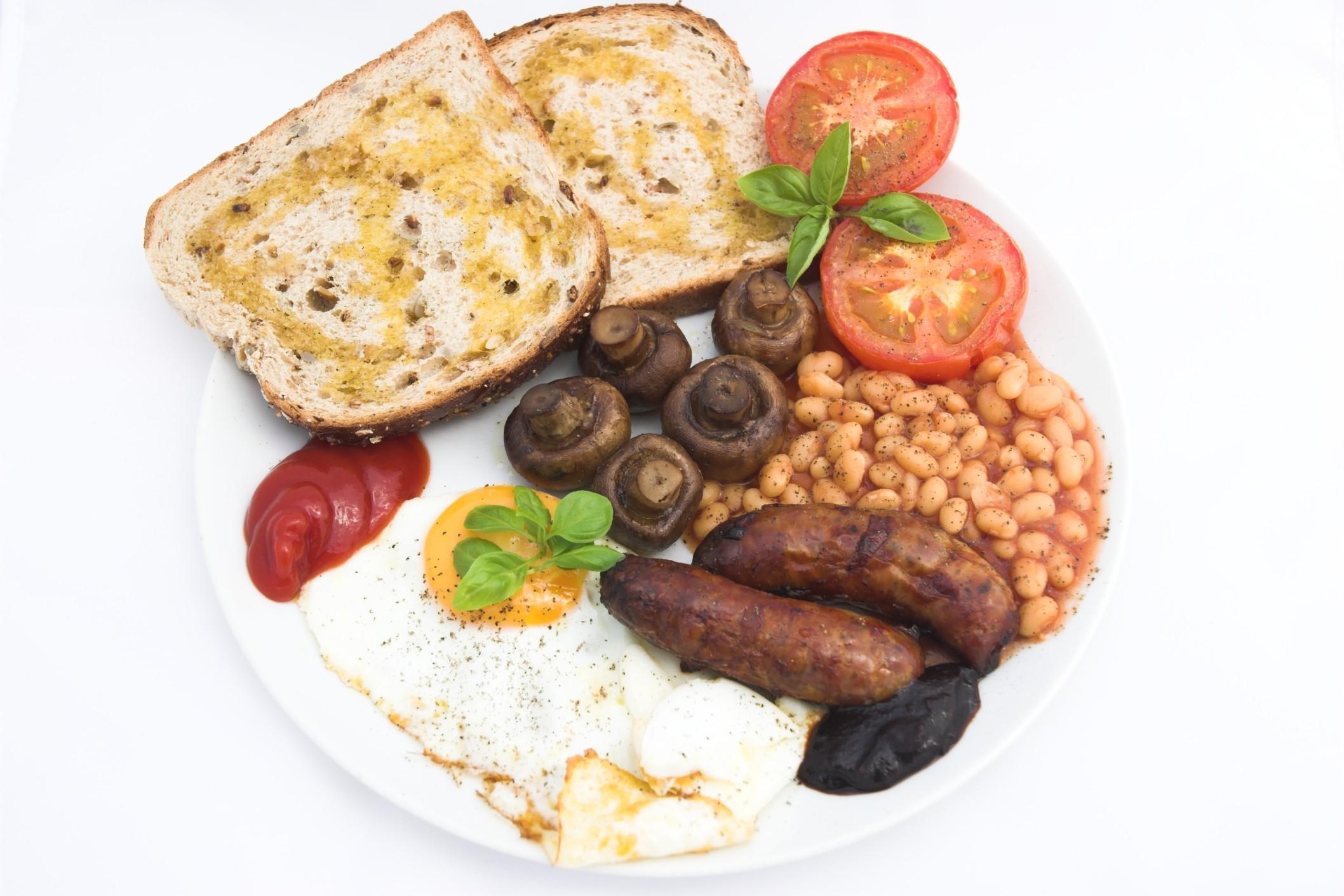Ricette della colazione tipica inglese