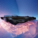 its unbearably hot out cool off on a tour of swedens frosty ice hotel
