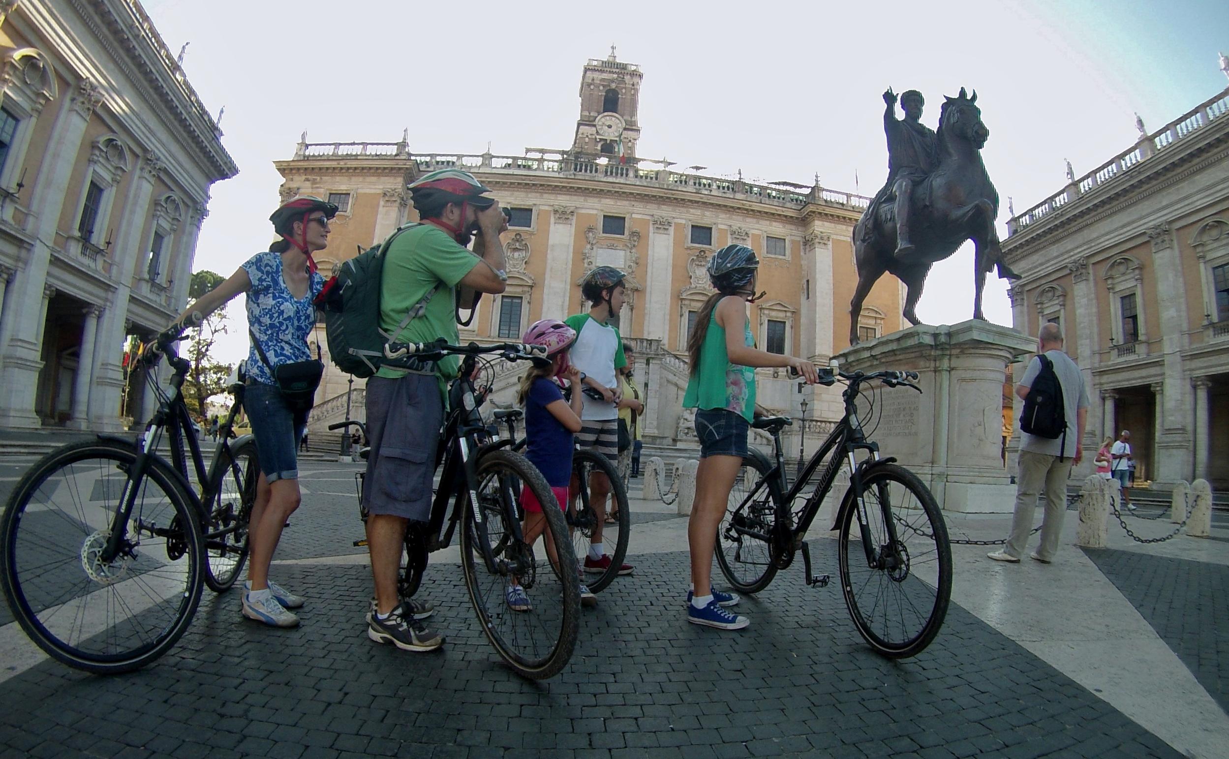 Cinque itinerari insoliti bicicletta a Roma
