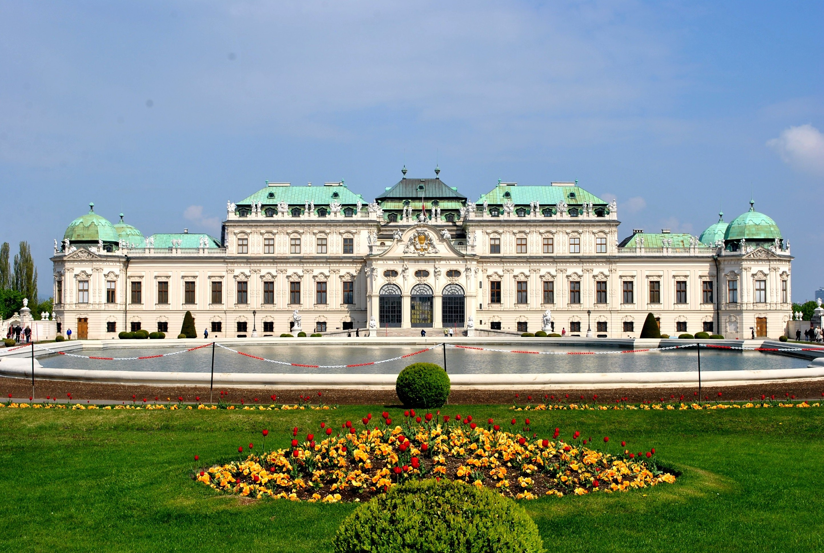 5 of 15   Belvedere Palace Vienna   AUSTRIA