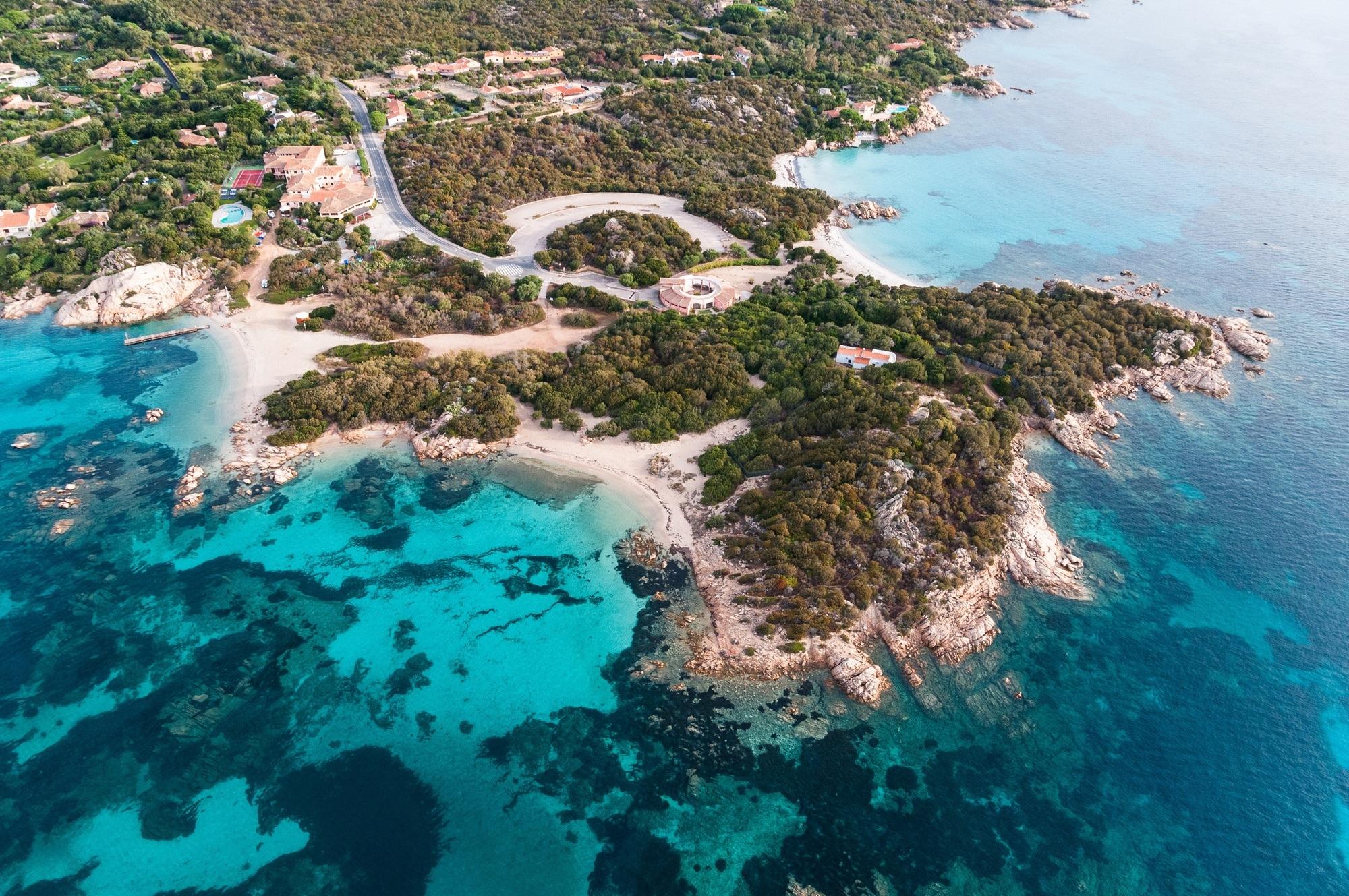 Cinque mete per viaggio di nozze di lusso in Sardegna