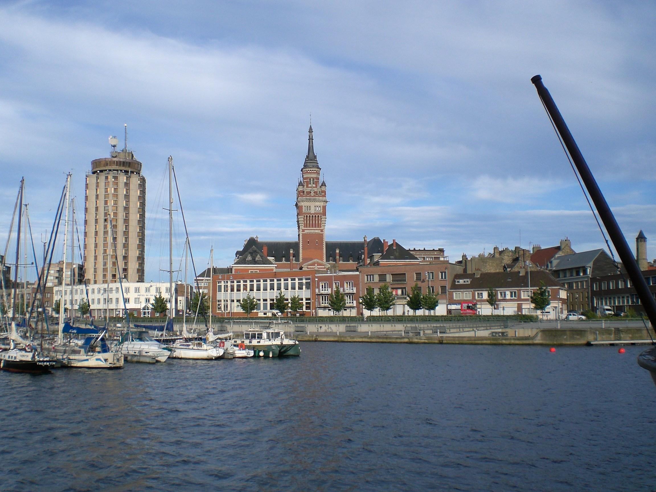 Dunkerque vue port