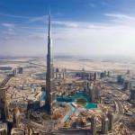 Il Burj Khalifa di Dubai è Il grattacielo più alto del mondo