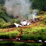 Korean Airlines flight 801 crash site