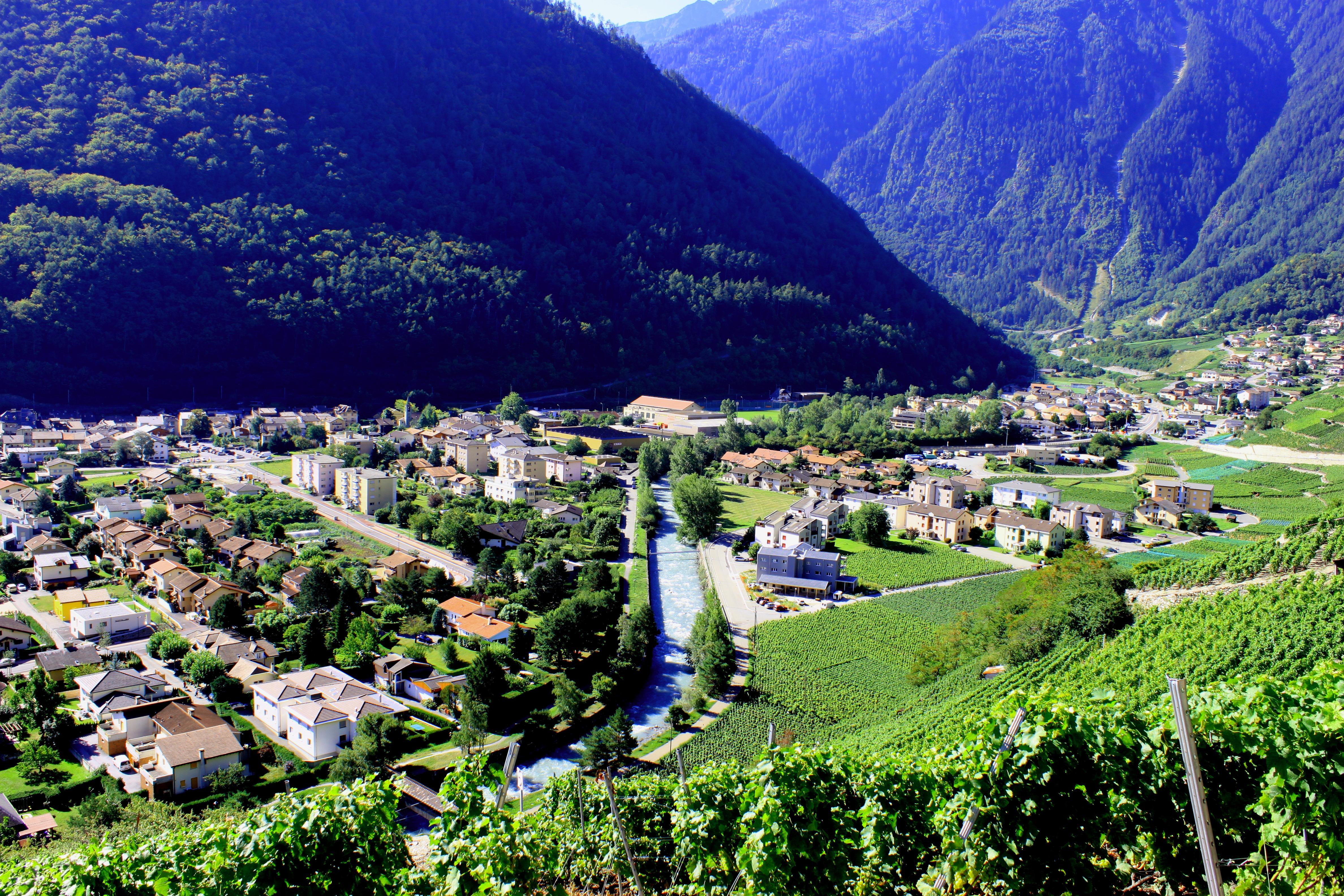 Martigny ville romaine et moderne Martigny Bourg