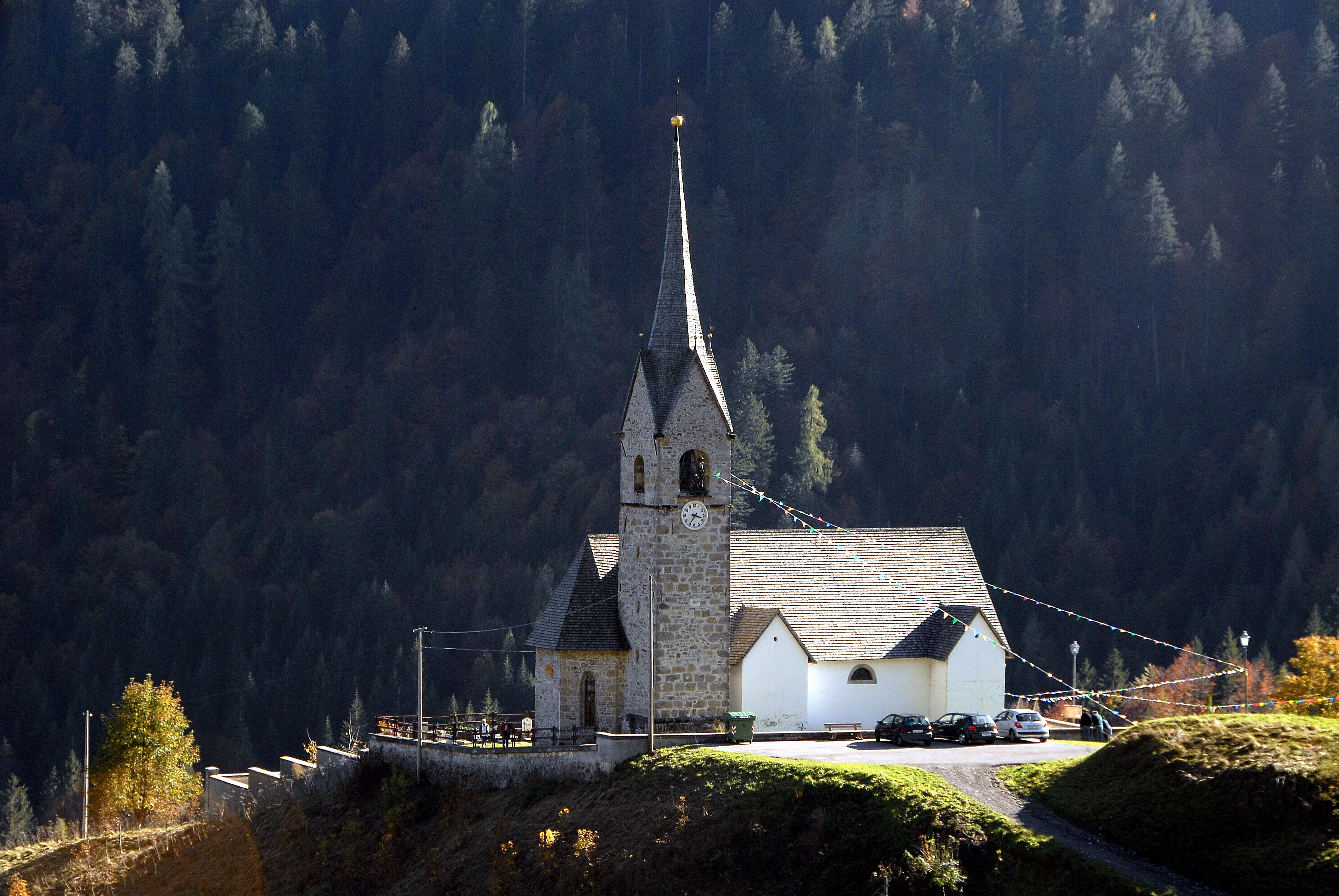 Sauris di sopra Pfarrkirche Heiliger Stefan 07102007 64