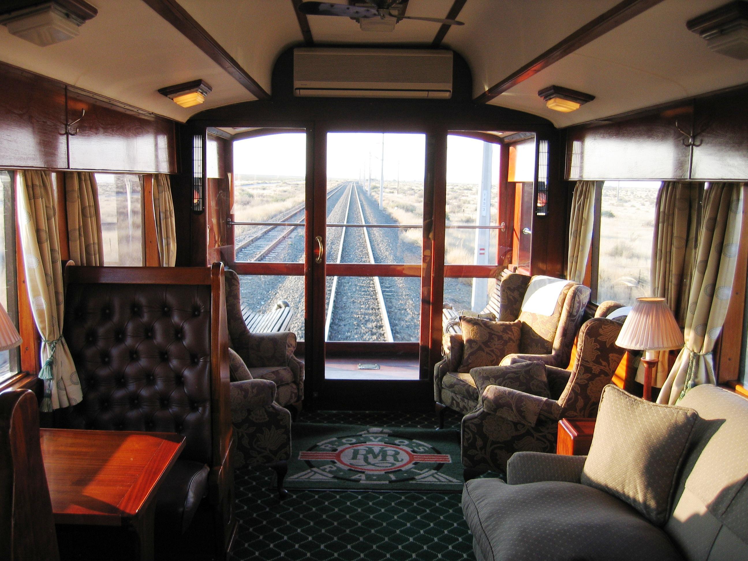 Itinerario viaggio in treno Rovos Rail in Africa