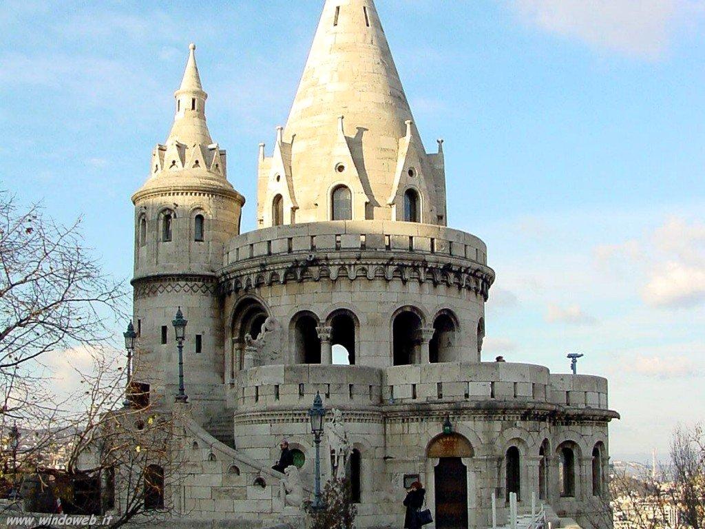 foto ungheria 002 Budapest Fishermans Castle Turret
