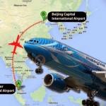 malasia Flight MH370 suddenly disappeared from the radar traffic control tower avi o desaparece rota traf go aereo 2014 update