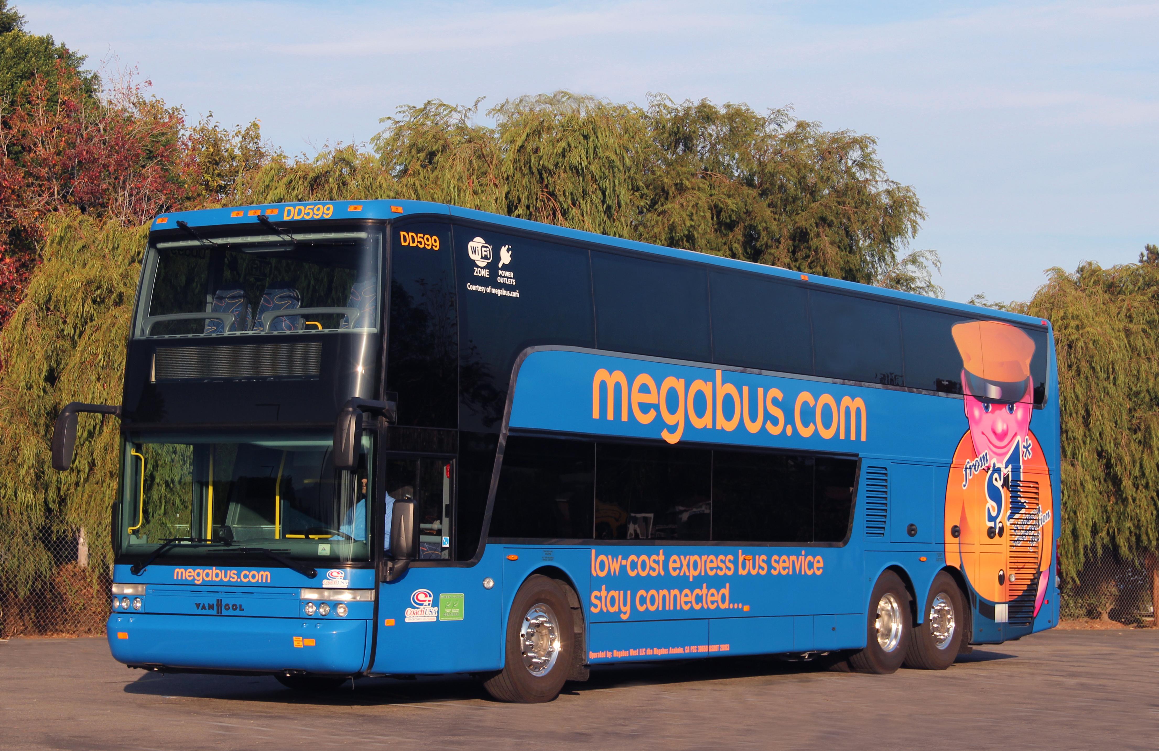Collegamento città italiane: arriva il Megabus