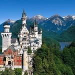 neuschwanstein castle bavaria germany green hd wallpaper 1537086