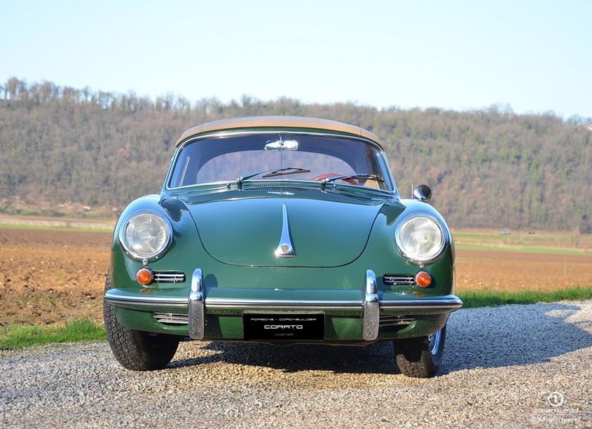 porsche 356 c cabriolet 1964 irischgruen verde irlanda restauro corato alonso 2