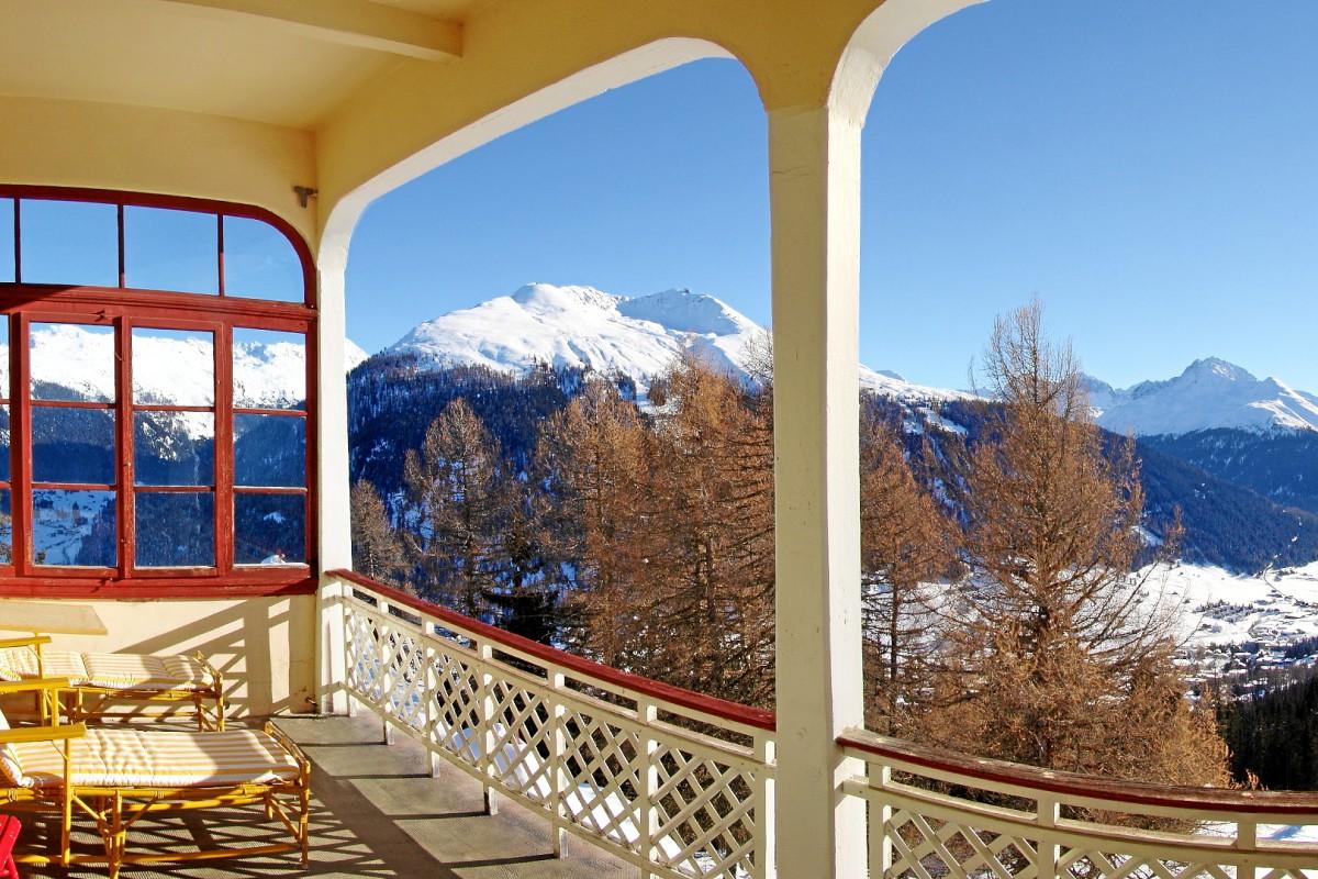 Come arrivare allo Schatzalp Hotel di Davos