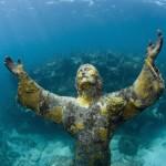 10 estatuas bajo el agua mar cristo abismo cayo largo