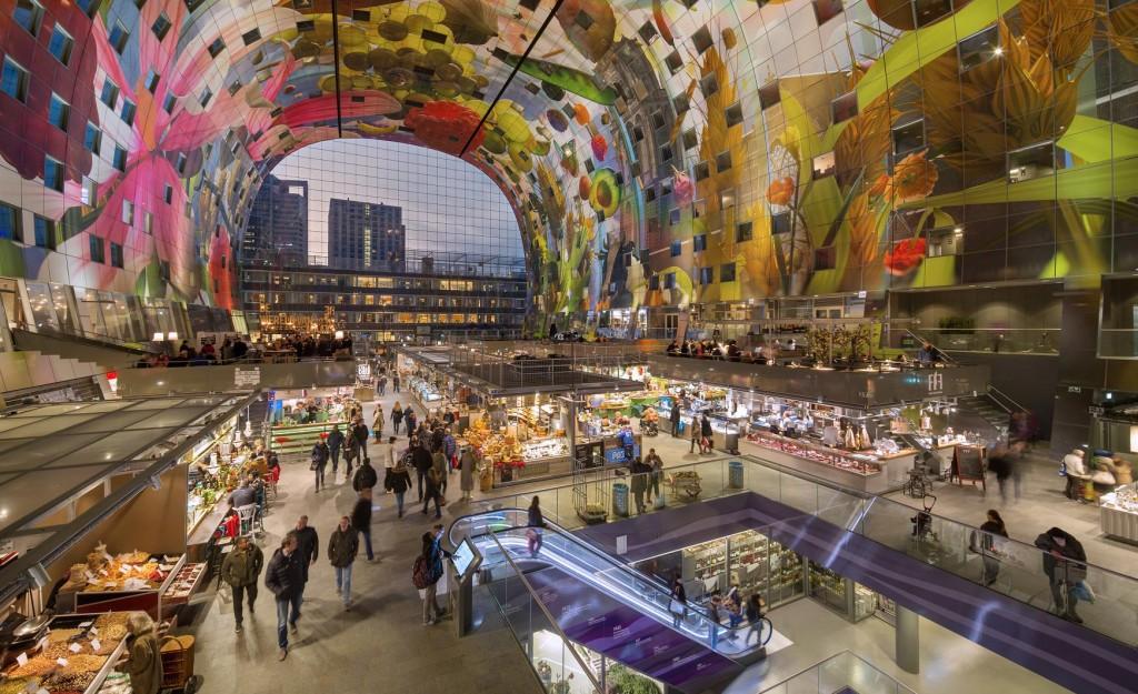 Alla scoperta del Markthal di Rotterdam
