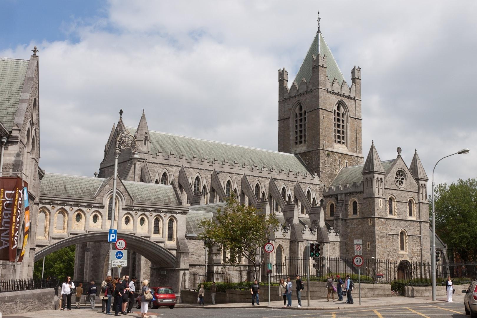 2013 DUBLINO cattedrale