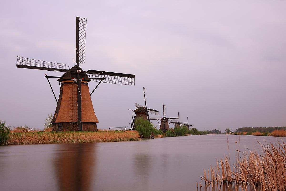 Cosa vedere in Olanda: i mulini a vento di Kinderdijk