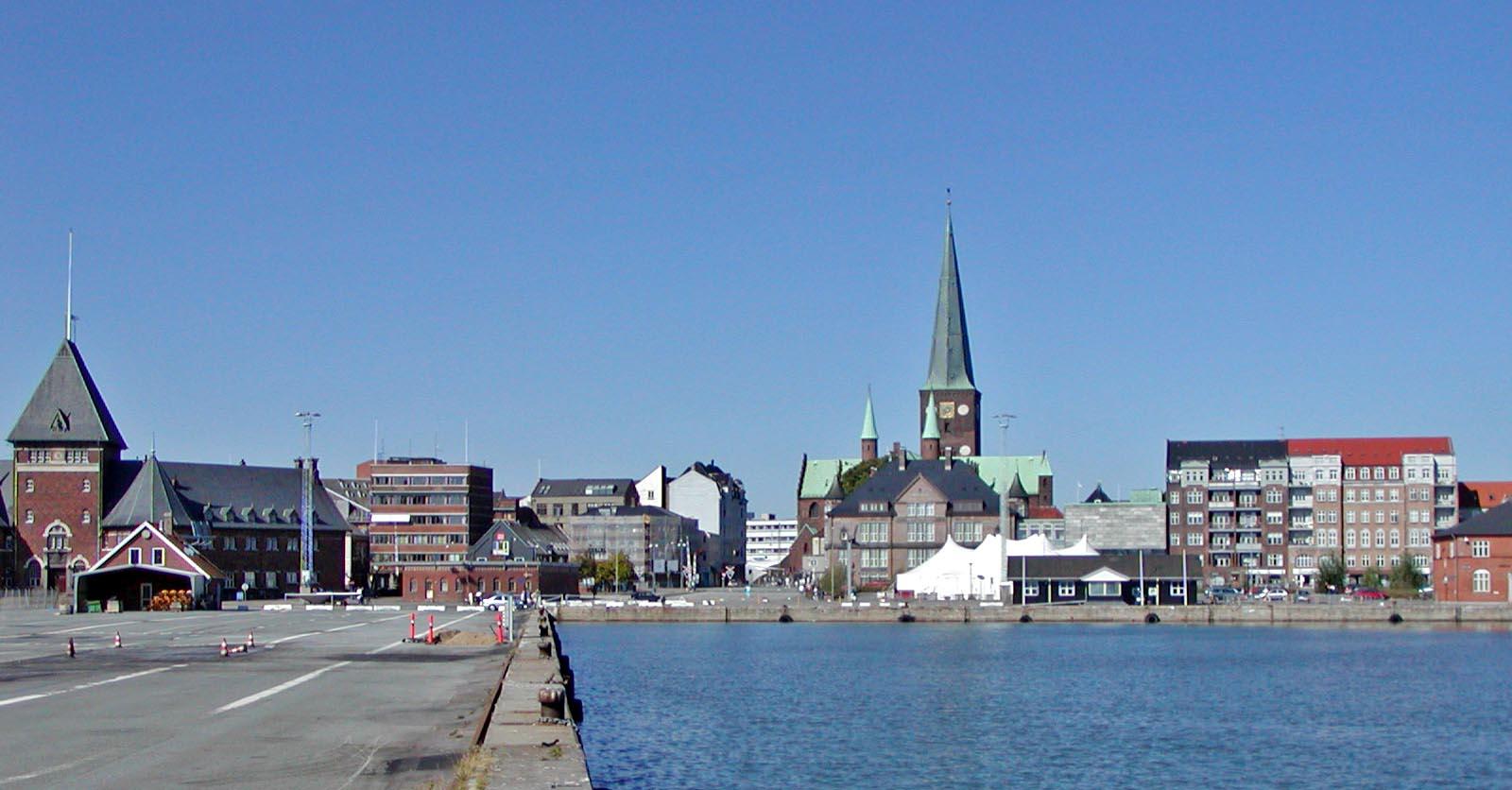 Aarhus waterfront
