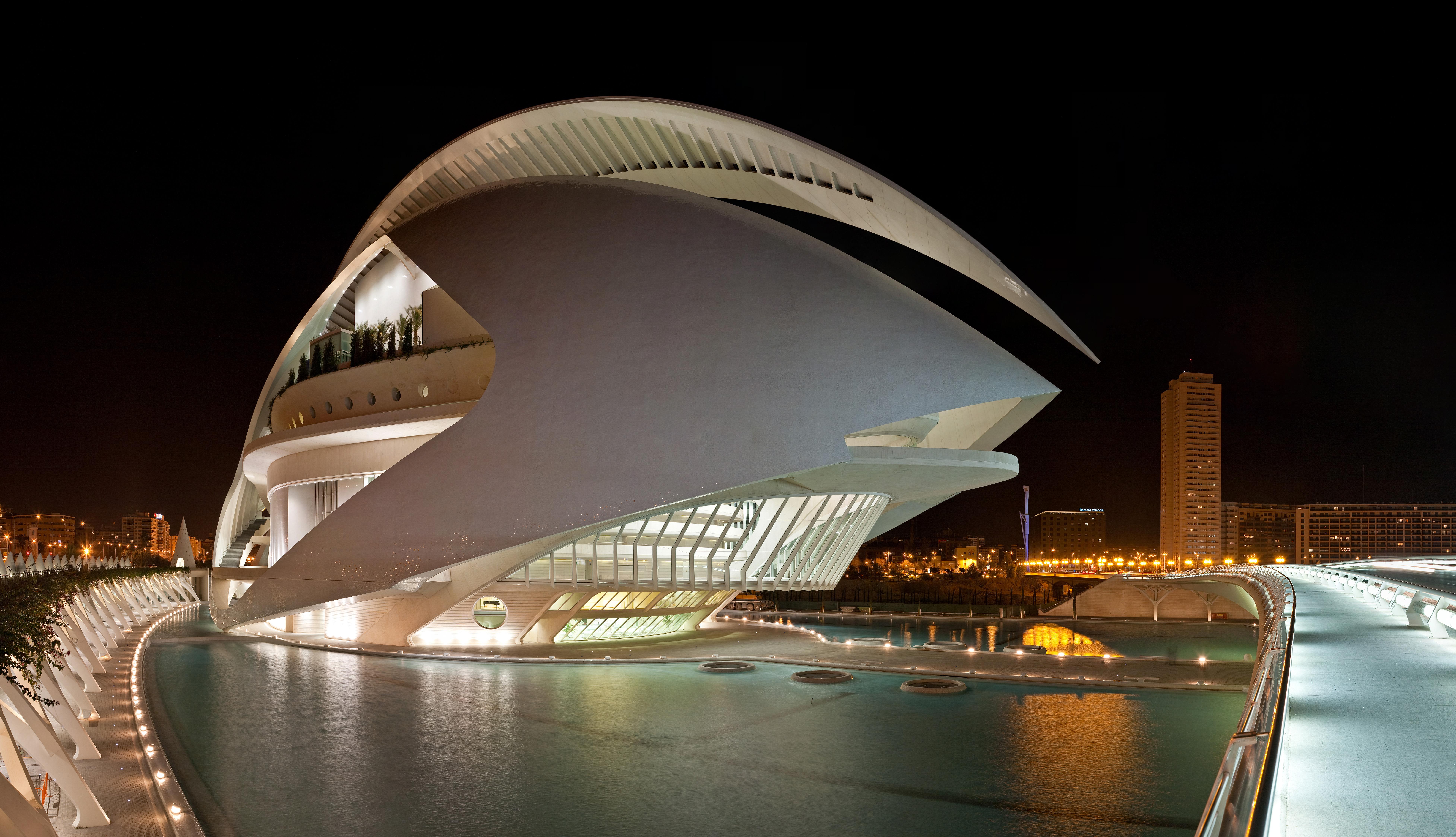 Cos'è il Palau de les Arts, Valencia