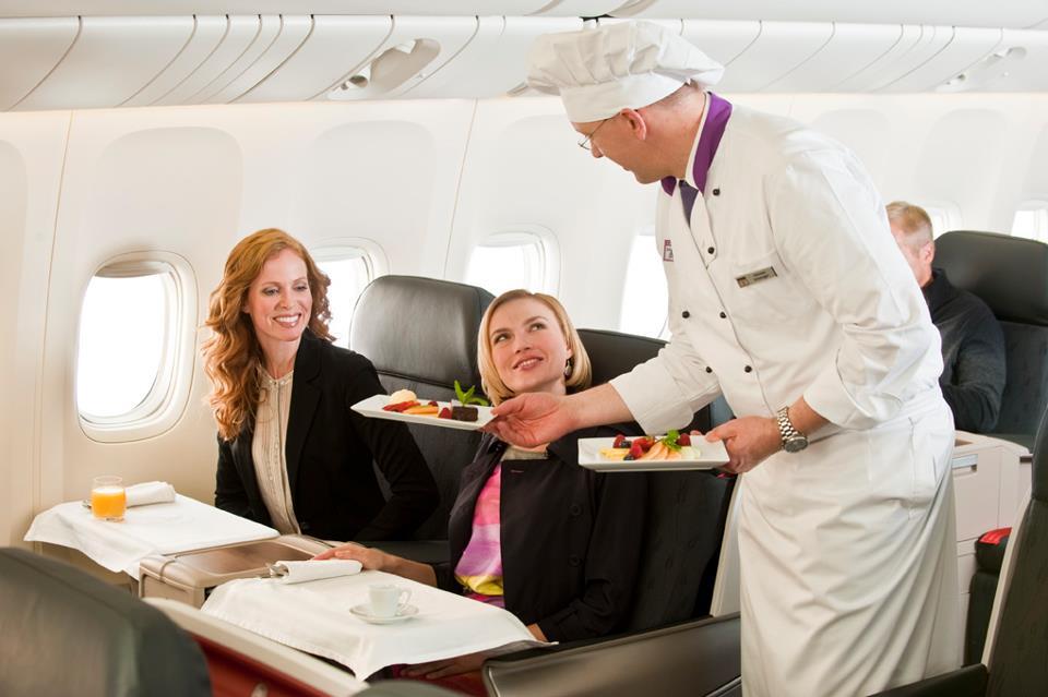 Classifica migliori piatti in aereo