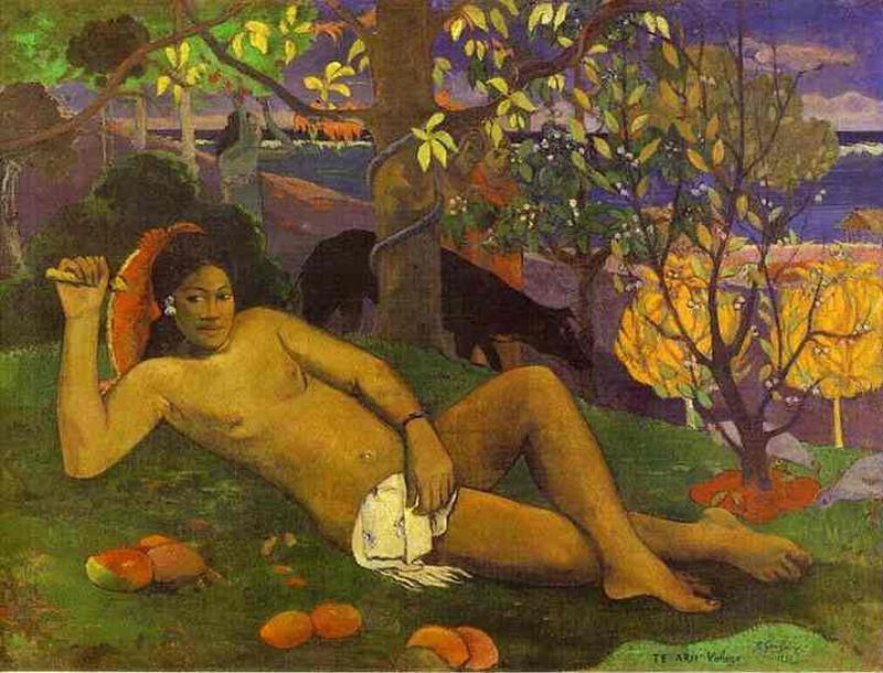 Gauguin La donna dei manghi