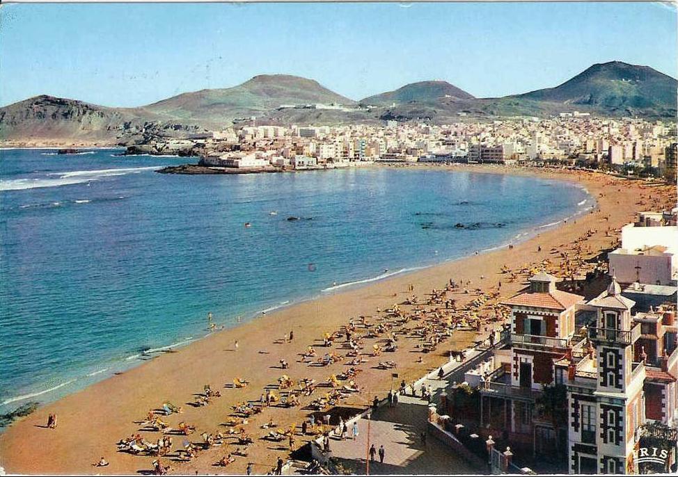 Gran Canaria Las Palmas postcard