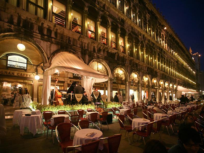 Come arrivare al Caffè Quadri di Venezia