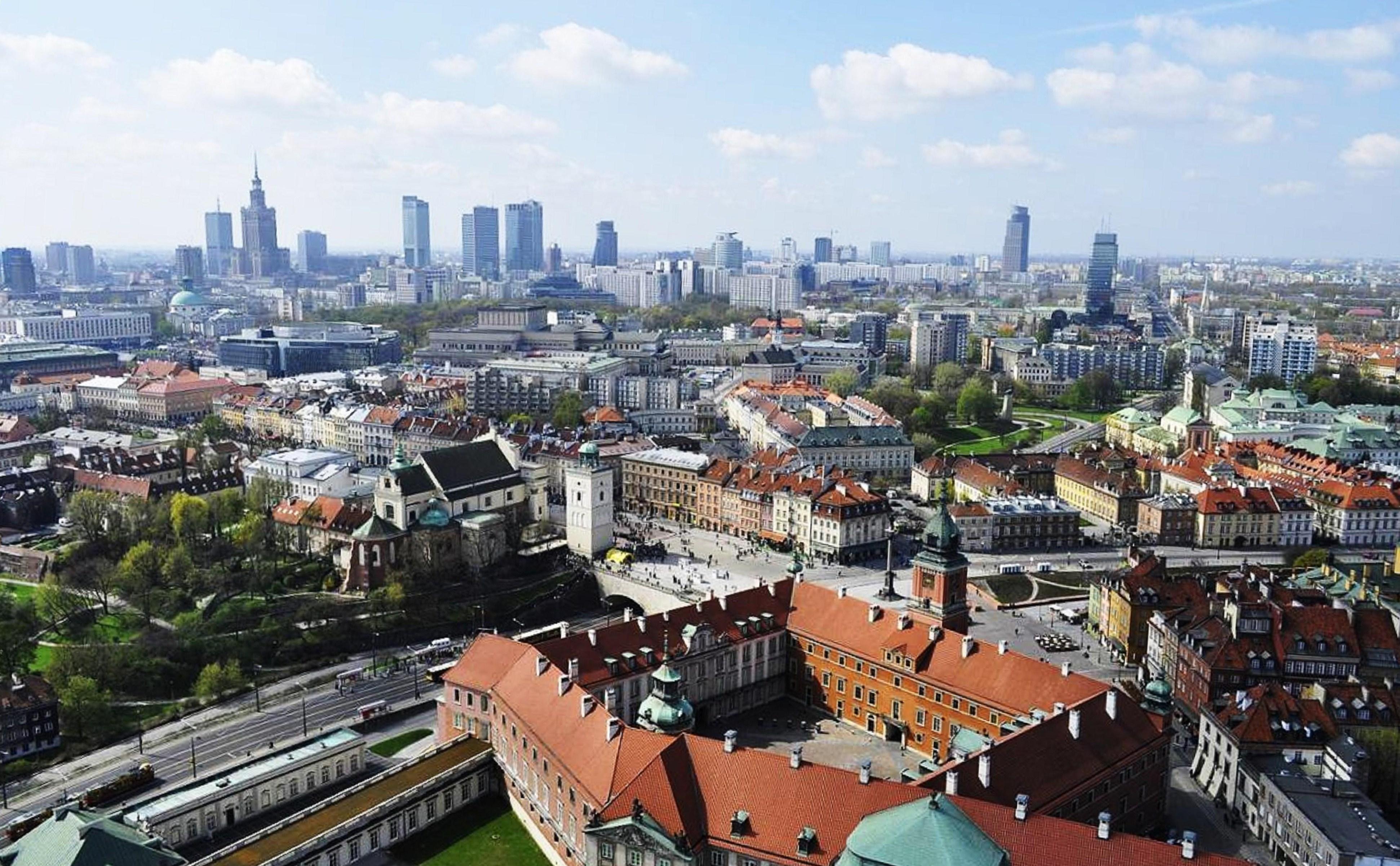 Che temperature Varsavia ad agosto