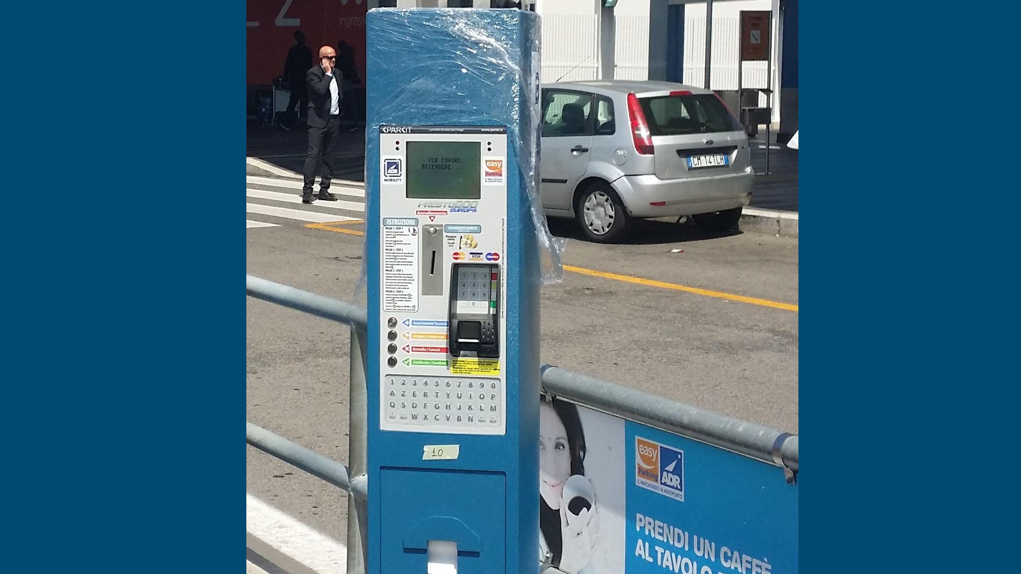 Caratteristiche servizio parcheggio Kiss&Go Fiumicino