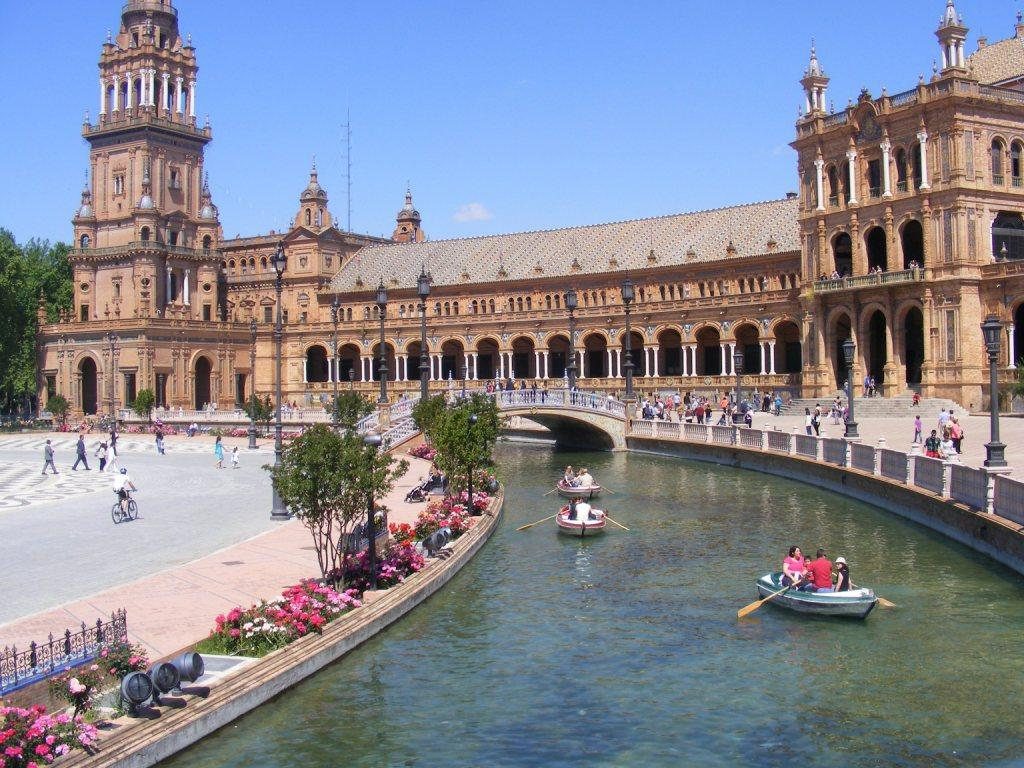 Spagna siviglia plaza de Espana