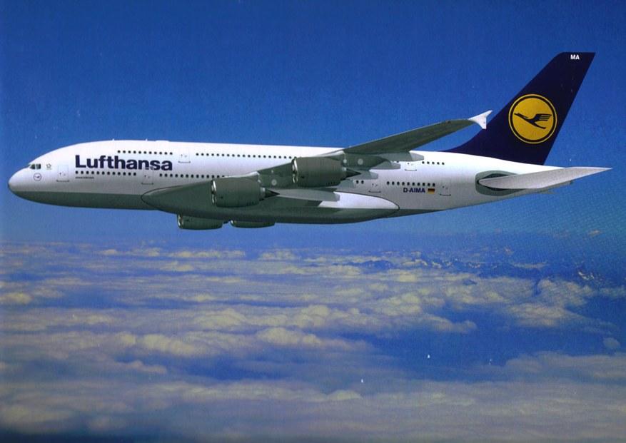 Come regalare biglietto aereo Lufthansa