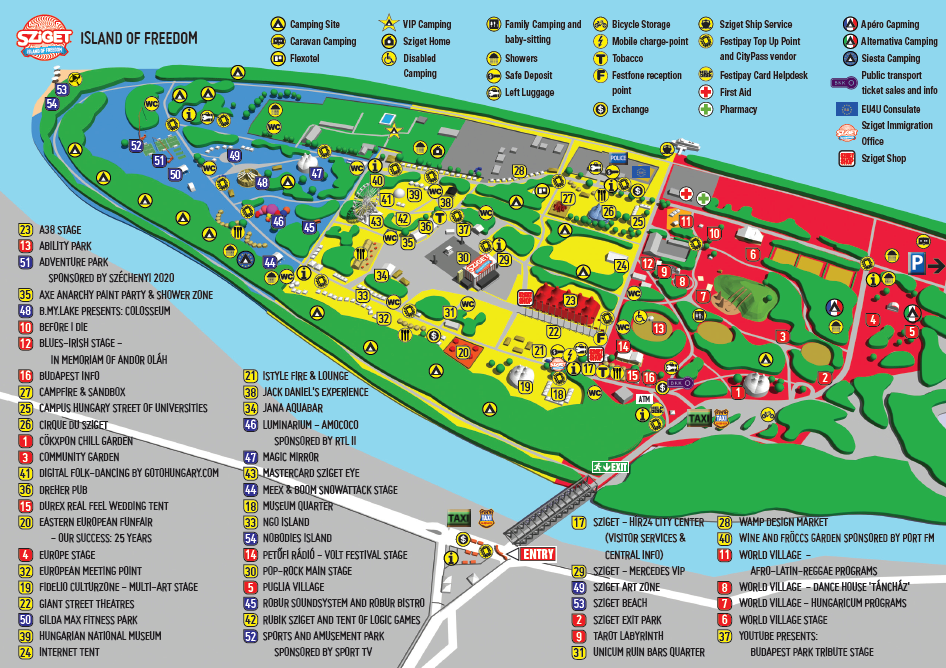 Sziget festival 2015 date