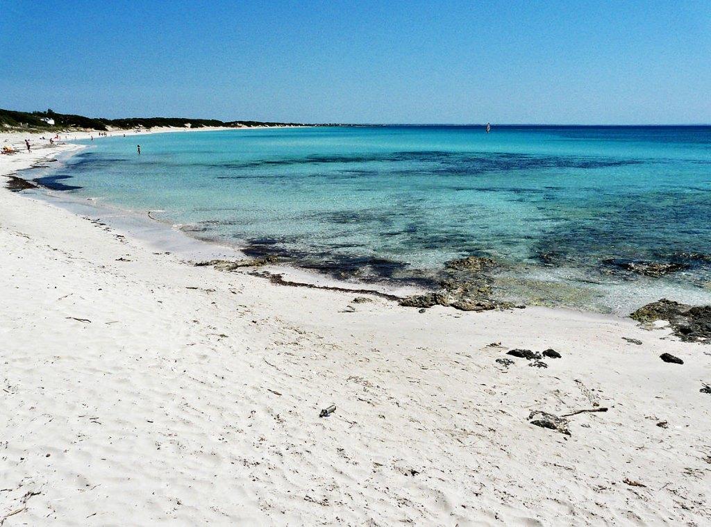Spiagge sabbia fine della Puglia